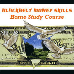 Blackbelt Money Skills home study course logo